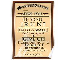 Michael Jordan Quotes Poster