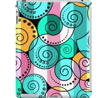 Abstract pattern in RETRO style iPad Case/Skin