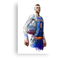 Kristaps Porzingis- New York Knicks Canvas Print