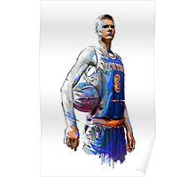 Kristaps Porzingis- New York Knicks Poster