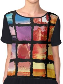 All Year Round Chiffon Top