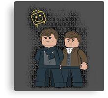 Lego Sherlock Canvas Print
