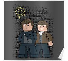Lego Sherlock Poster