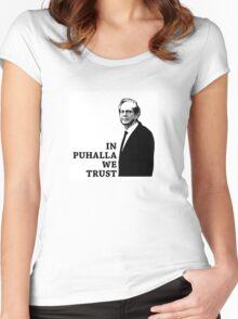 In Puhalla We Trust - DAAP Women's Fitted Scoop T-Shirt