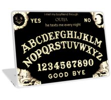 I Met My Boyfriend Through Ouija Laptop Skin