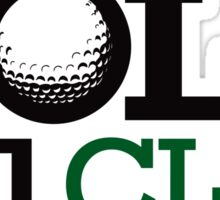 Hole in one club Sticker