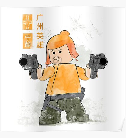 Lego Firefly Jayne Cobb Poster