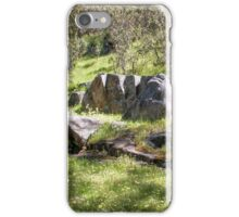 A rock is just a rock. iPhone Case/Skin