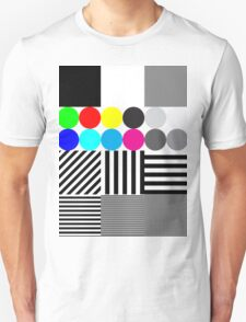 Extreme tone test pattern with colour T-Shirt