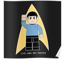 Lego Spock Poster