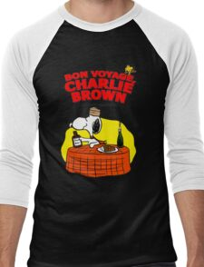 Snoopy : Bon Voyage, Charlie Brown ( And Don't Come Back! ) Men's Baseball ¾ T-Shirt