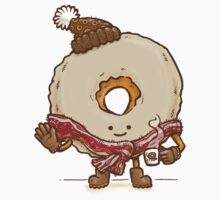 Bacon Scarf Maple Donut Kids Tee