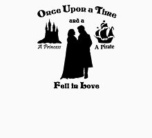 "Captain Swan ""A Princess and a Pirate"" Silhouette Design  T-Shirt"