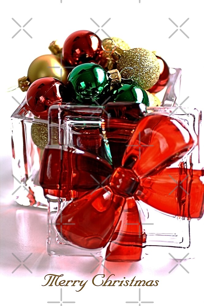 Merry Christmas - Gift Boxed Baubles by Joy Watson