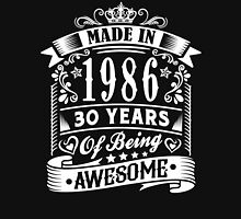 MADE IN 1986 Unisex T-Shirt
