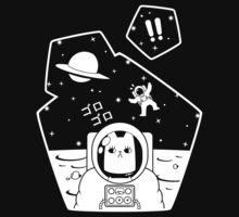 Christobelle Purrlumbus: Oblivious Explorer of Space One Piece - Short Sleeve