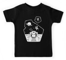 Christobelle Purrlumbus: Oblivious Explorer of Space Kids Tee