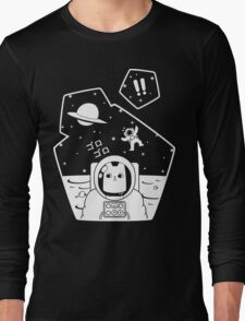 Christobelle Purrlumbus: Oblivious Explorer of Space Long Sleeve T-Shirt