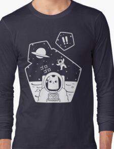 Christobelle Purrlumbus: Oblivious Explorer of Space Long Sleeve T-Shirt