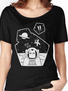 Christobelle Purrlumbus: Oblivious Explorer of Space Women's Relaxed Fit T-Shirt