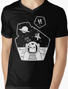 Christobelle Purrlumbus: Oblivious Explorer of Space Mens V-Neck T-Shirt