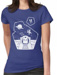 Christobelle Purrlumbus: Oblivious Explorer of Space Womens Fitted T-Shirt
