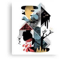 Shapes and Nightmares Canvas Print