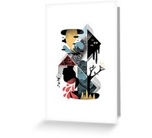 Shapes and Nightmares Greeting Card