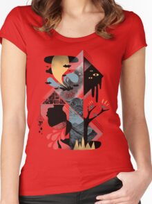 Shapes and Nightmares Women's Fitted Scoop T-Shirt