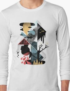 Shapes and Nightmares Long Sleeve T-Shirt