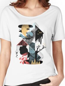 Shapes and Nightmares Women's Relaxed Fit T-Shirt