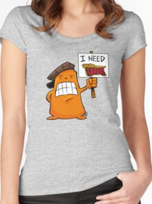 I NEED PIE! Women's Fitted Scoop T-Shirt
