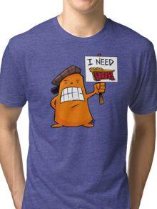 I NEED PIE! Tri-blend T-Shirt