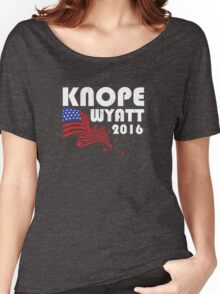 Knope-Wyatt 2016 Women's Relaxed Fit T-Shirt