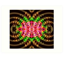 Vivid Colour Warp .... View larger for full effect Art Print