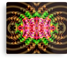 Vivid Colour Warp .... View larger for full effect Metal Print