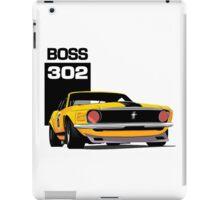 American Muscle Car 302 iPad Case/Skin