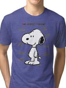 Snoopy : The Perfect Friend Tri-blend T-Shirt