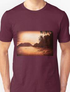 Sunset Sandy Beach T-Shirt