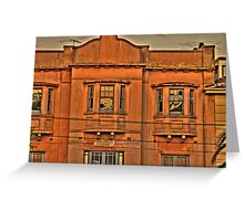 Acland Street HDR Greeting Card