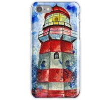 Lighthouse in the Storm 2 iPhone Case/Skin
