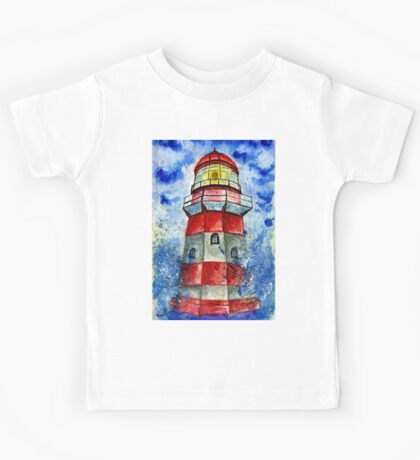 Lighthouse in the Storm 2 Kids Tee