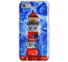 Lighthouse in the Storm 3 iPhone Case/Skin