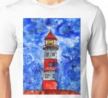 Lighthouse in the Storm 3 Unisex T-Shirt