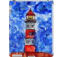 Lighthouse in the Storm 3 iPad Case/Skin