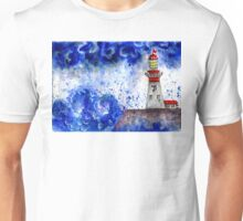 Lighthouse in the Storm 4 Unisex T-Shirt