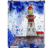 Lighthouse in the Storm 4 iPad Case/Skin