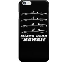 Miata Club of Hawaii 4 GEN Light Graphic Print iPhone Case/Skin