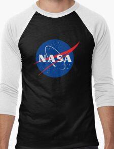 NASA logo Men's Baseball ¾ T-Shirt