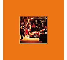 34 LeMans - Vintage Ferrari Photographic Print